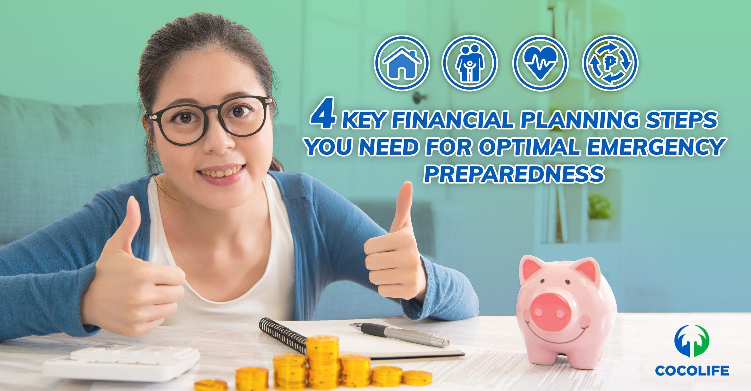 4 Key Financial Planning Steps you Need for Optimal Emergency Preparedness